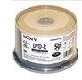 Sony 50-Pack Inkjet Printable DVD-R Spindle