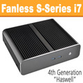 Fanless S-Series PC Core i7 4785T, 8GB, 120GB SSD, Front USB 3.0 [ASUS Q87T]