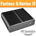 Fanless S-Series PC Core i5 4590T, 8GB, 120GB SSD, Front USB 3.0 [ASUS Q87T]
