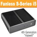 Fanless S-Series PC Core i5 4590T, 8GB, 120GB SSD, Front USB 3.0 [ASUS Q87T]