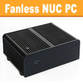 Fanless Intel Celeron NUC Mini PC, 4GB DDR3, 120GB SSD [Newton-L-FY]