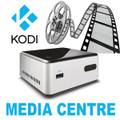 OpenELEC (KODI) Media Centre - Celeron DN2820FYKH NUC Mini PC