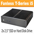 Fanless T-Series PC Core i5 4590T, 8GB, 120GB SSD [ASUS Q87T]