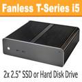 Fanless T-Series PC Core i5 4590T, 8GB, 120GB SSD [ASUS Q87T]