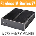 Fanless M-Series PC Core i7 4785T, 8GB, 120GB SSD [ASUS Z97i-Plus]