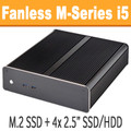 Fanless M-Series PC Core i5 4590T, 8GB, 120GB SSD [ASUS Z97i-Plus]