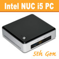 "Intel ""5th Gen Broadwell"" NUC Core i5 PC, 4GB DDR3, 120GB SSD, WiFi, Bluetooth [NUC5i5RYK]"