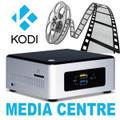 OpenELEC (KODI) Media Centre - Pentium NUC Mini PC [NUC5PPYH]