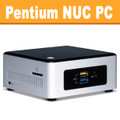 Intel Pentium NUC PC, 4GB, 120GB SSD, Wifi, Bluetooth [NUC5PPYH]
