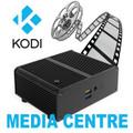 Fanless (silent) OpenELEC (KODI) Media Centre - Celeron NUC Mini PC
