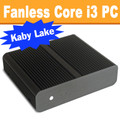 Fanless Mini PC Core i3 Kaby Lake, Displayport, HDMI, Dual LAN, 8GB, 120GB SSD [ASUS H110T]