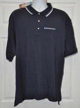 Blaupunkt Polo Shirt-Dark Blue stripe