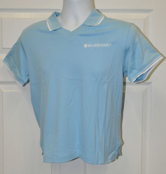 Blaupunkt Polo Shirt-light Blue stripe