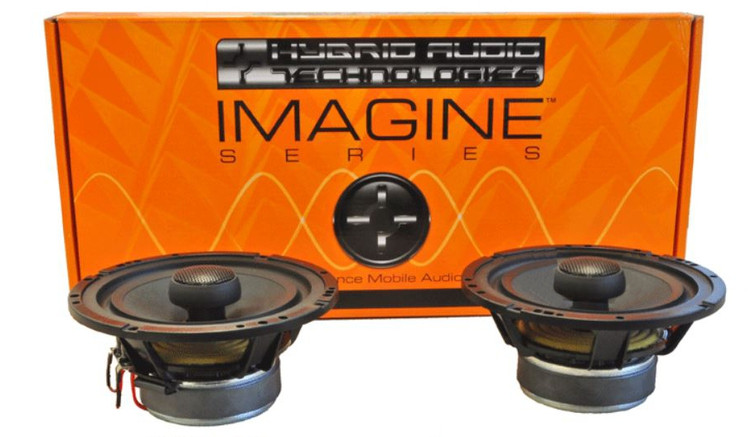 "Imagine I61-2V2c 6.5"" Coaxial ONLY Speaker Set"