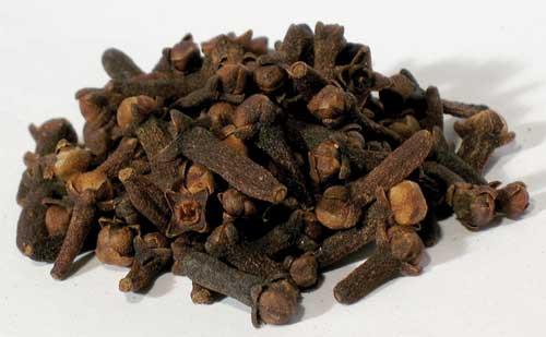 Dried Herbs & Resins: Clove