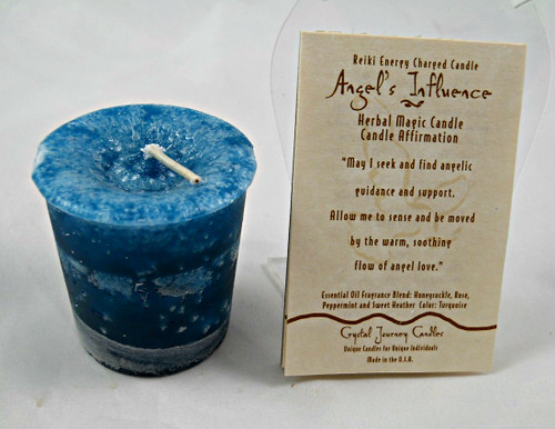 Reiki Votive - Angel's Influence