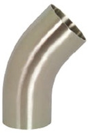 Polished 45° Elbow with Tangents