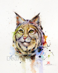 BOBCAt signed and numbered giclee' print.