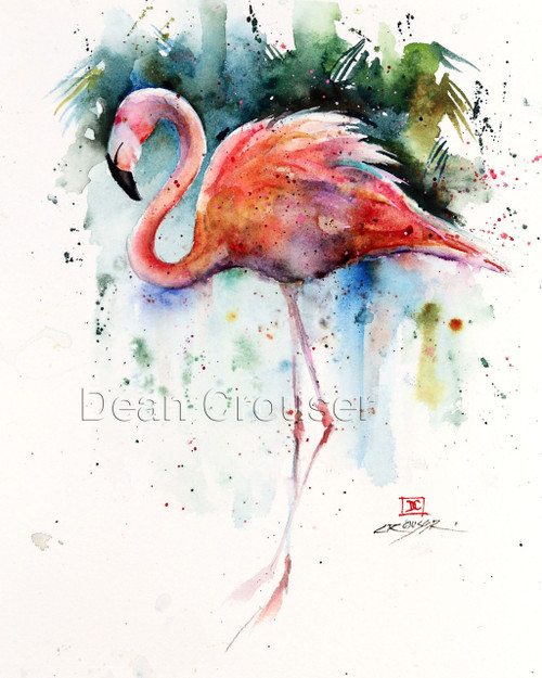Flamingo The Art Of Dean Crouser