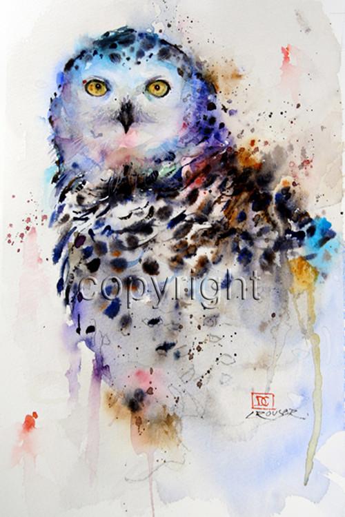 Snowy Owl The Art Of Dean Crouser