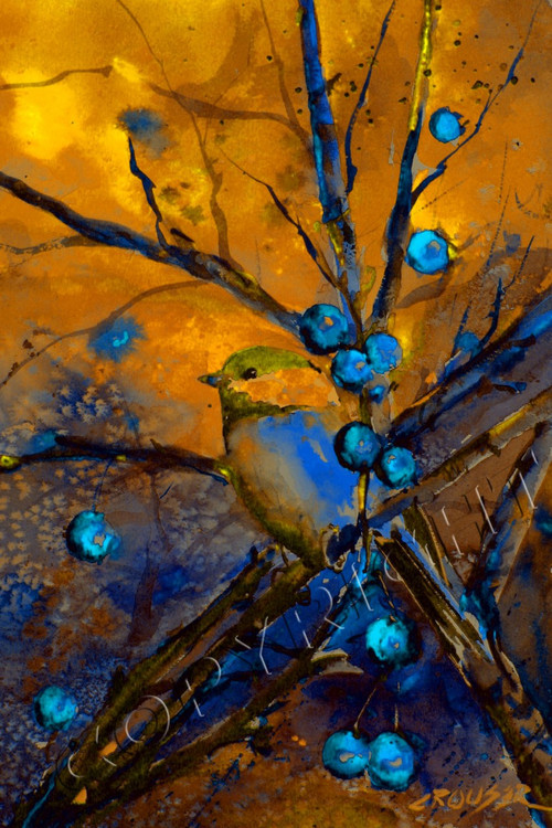 Golden Chickadee The Art Of Dean Crouser