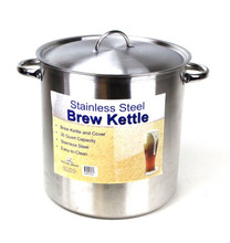 40 QT (10 Gallons) Brew Kettle - Farmhouse Brewing Supply