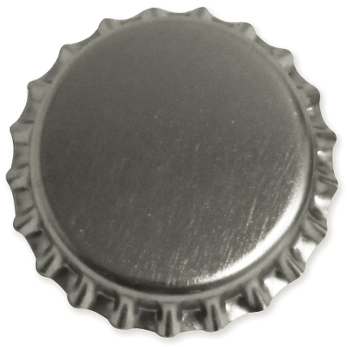 Oxygen barrier bottle caps silver farmhouse brewing supply for Pictures of bottle caps