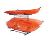 freestanding kayak stand that holds 3 kayaks