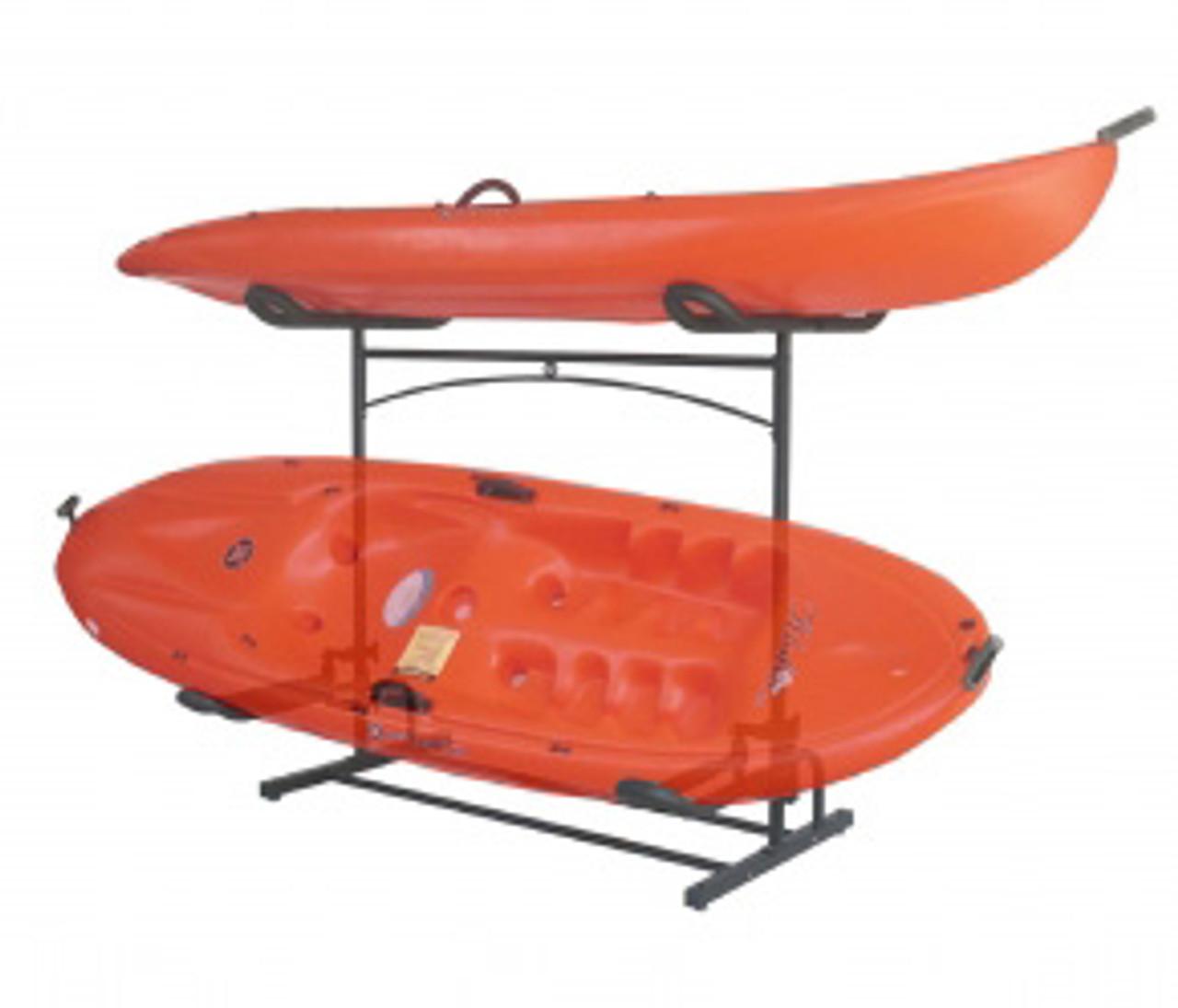 kayak storage rack freestanding