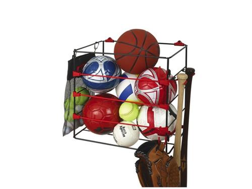 ball storage rack home and garage