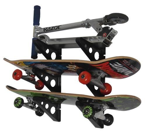 Skateboard Storage Rack Triple Rack Storeyourboard Com
