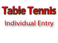 Table Tennis Registration