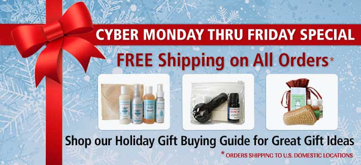 Cyber Week Special: Free Shipping on All Orders