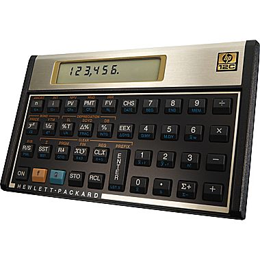 Hp C Programmable Financial Calculator