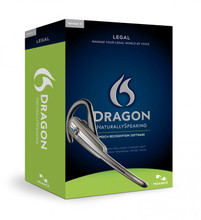 Dragon NaturallySpeaking 11 Legal with Bluetooth Headset