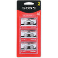 Sony Microcassette 60Min [3 Pack] 3MC60L