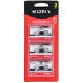 Sony Microcassette 60Min [3 Pack] 3MC60L