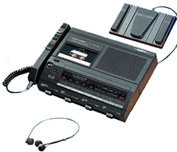Sanyo TRC-7600 Minicassette Recorder and Transcriber