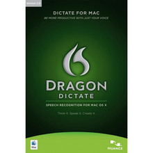 Dragon Dictate 2.0 Speech Recognition Software for Mac