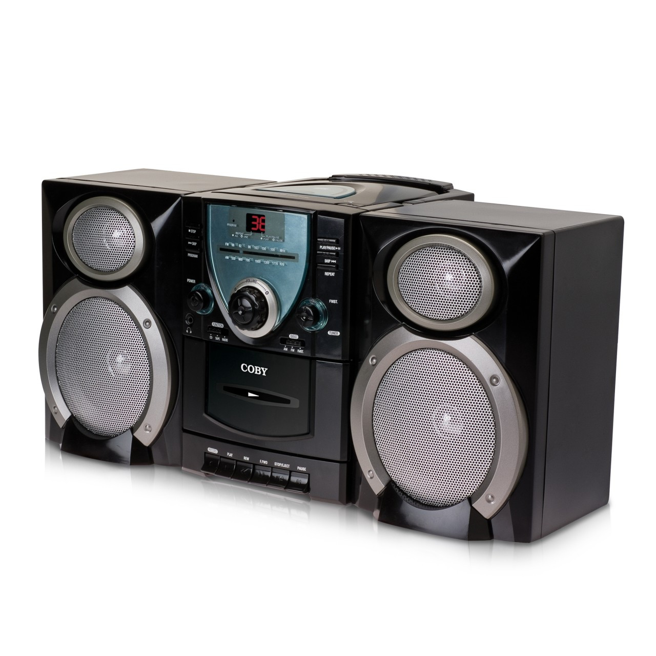 Coby Mini Portable CD Stereo System CXCD400