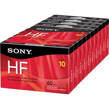 Sony High Fidelity Audio Dictation Cassette 10/pack