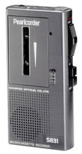 Olympus S831 Pearlcorder Microcassette Recorder