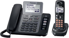 Panasonic KX-TG9471 Two Line DECT 6.0 Expandable Digital Answering System Cordless