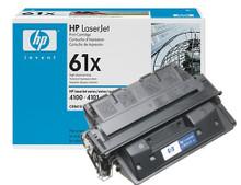 HP 61X High Yield Black LaserJet Toner Cartridge