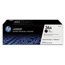 HP 36A Black Dual Pack LaserJet Toner Cartridges