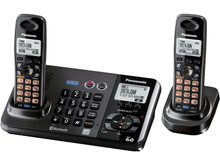 Panasonic KX-TG9382T 2-Line Expandable Digital Cordless Phone with Answering System and 2 Handsets