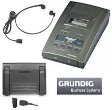 Grundig 3110TG Microcassette Transcriber