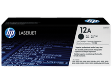 HP LaserJet 12A (Q2612A) Black Toner Print Cartridge