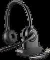 Plantronics 84008-03 Savi W420 Binaural Over-the-Head USB Wireless Headset with Mic