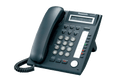Panasonic KX-NT321 Black 8 Button 1-line Backlit LCD IP Telephone with Speakerphone, Power over Ethernet (PoE)